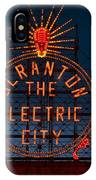 Scranton - The Electric City IPhone Case