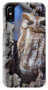 Screech Owl #1 IPhone Case
