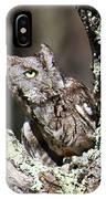 Screech Owl IPhone Case