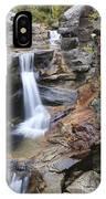 Screw Auger Falls - Maine  IPhone Case