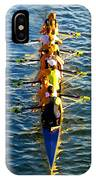 Sculling Women IPhone Case