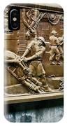 Sculpture Torture At Hoa Lo Prison Hanoi IPhone Case