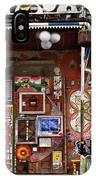Sculptures And Art At Metelkova City Autonomous Cultural Center  IPhone Case