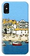 Sea And Sky IPhone Case by Julian Perry