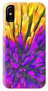 Sea Anemone Abstract - Kooosh Ball IPhone Case