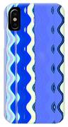Sea Blue Wave Tapestry IPhone Case