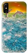 Sea In Action IPhone X Case