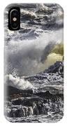 Sea In Turmoil IPhone Case
