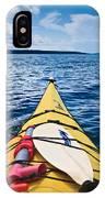 Sea Kayaking IPhone X Case