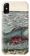 Sea Monster, 16th Century IPhone Case