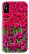 Sea Of Tulips IPhone Case