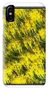 Sea Of Yellow IPhone Case