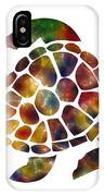 Sea Turtle IPhone Case by Michael Colgate