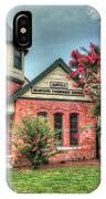 Seaboard Railroad Station Suffolk Va No.1 IPhone Case