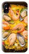 Seafood Paella  IPhone Case