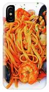 Seafood Pasta IPhone Case