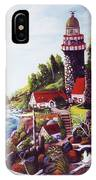 Seagull Cove And Lighthouse IPhone Case