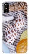 Seashells And Starfish IPhone Case