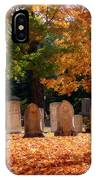 Seaside Cemetery IPhone Case
