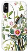 Seaside Sparrow, 1858 IPhone Case