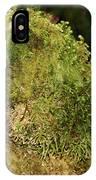 Seasons Of Magic - Hoh Rainforest Olympic National Park Wa IPhone Case