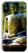 Seated Buddha IPhone Case