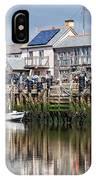 Seaton Harbour - Devon IPhone Case