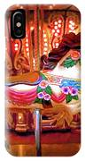 Seattle Carousel Horse IPhone Case