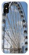 Seattle Great Wheel IPhone Case
