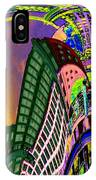 Seattle In Daliland IPhone Case