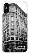 Seattle - Misty Architecture Bw IPhone Case