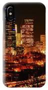 Seattle Night Traffic IPhone Case