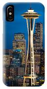 Seattle Space Needle IPhone Case