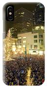 Seattle Westlake Tree Lighting IPhone X Case