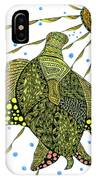 Seaturtle  IPhone Case by Barbara McConoughey