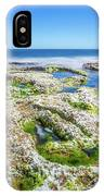 Seaweed And Salt Landscape. IPhone Case by Gary Gillette