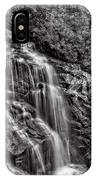 Secluded Falls - Bw IPhone Case