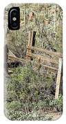 Secluded Historic Corral In Sonoran Desert IPhone Case
