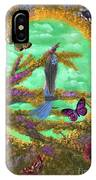 Secret Butterfly Garden IPhone Case