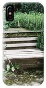 Secret Garden Bench IPhone Case