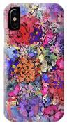 Secret Garden Flowers IPhone Case