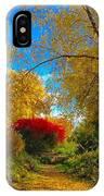 Secret Path At Lafayette Park Landscape IPhone Case