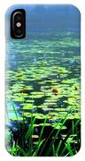Secret Quiet Pond IPhone Case