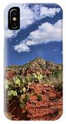 Sedona # 16 - Red Rocks IPhone Case