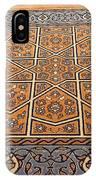 Sehzade Mosque Prayer Carpet IPhone Case