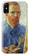 Self Portrait As An Artist IPhone Case