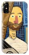 Self-portrait As Homage To Picasso IPhone Case