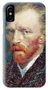 Self Portrait Vincent Van Gogh IPhone Case