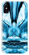 Self Reflection - Blue IPhone Case