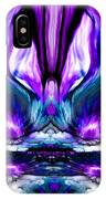 Self Reflection - Purple Blue IPhone Case